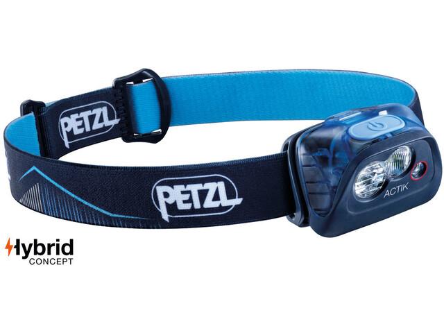 Petzl Actik Otsalamppu, blue